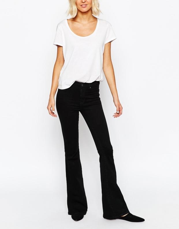 ASOS Dr Denim Brigitte Flare Jeans €56.34