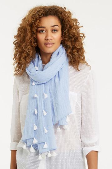 Blue scarf Oasis