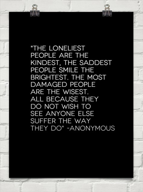 lonely people
