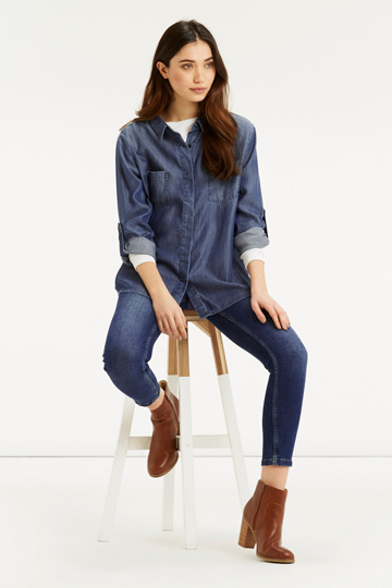 Oasis The One And Only Denim Shirt - €39 - buy here