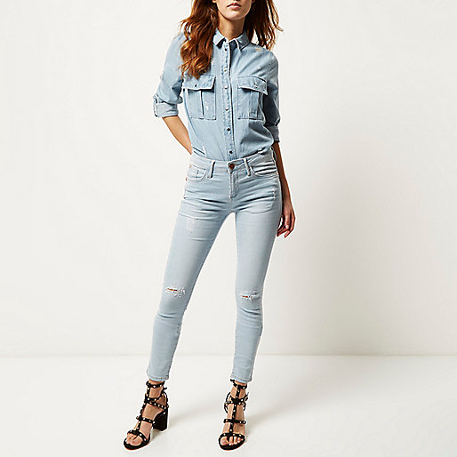 River Island Amelie Skinny Jeans - €55