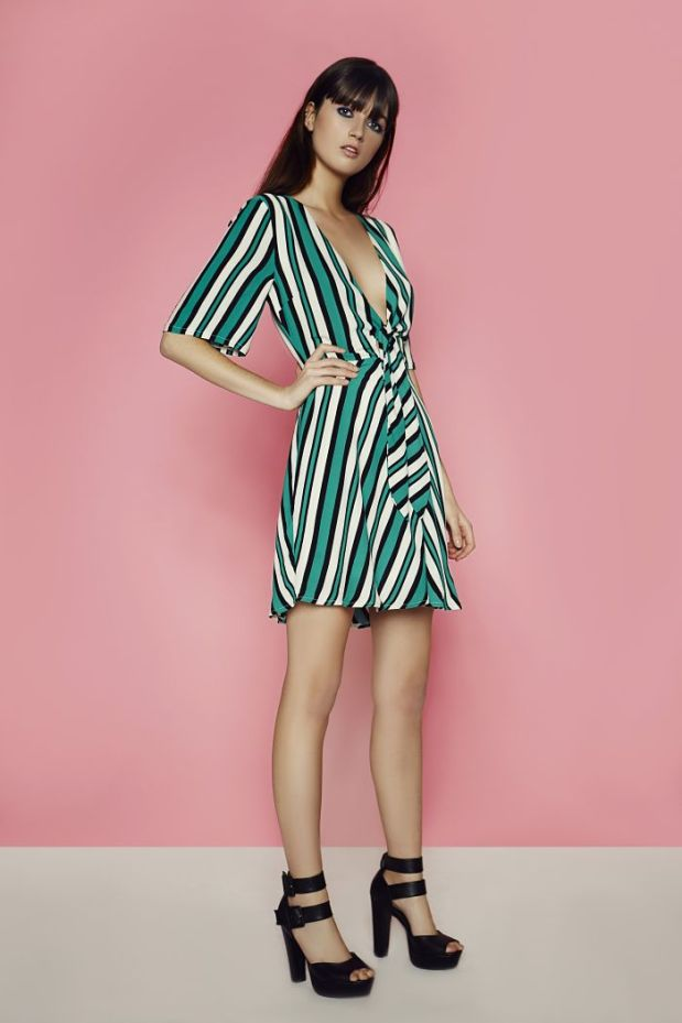 Striped dress - €34 - Boohoo
