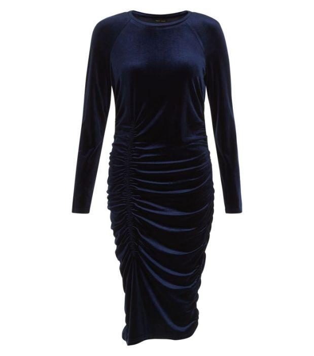 New Look AW16 velvet dress