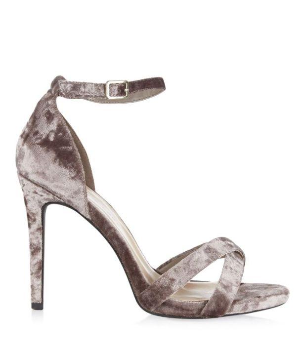 New Look AW16 velvet shoes