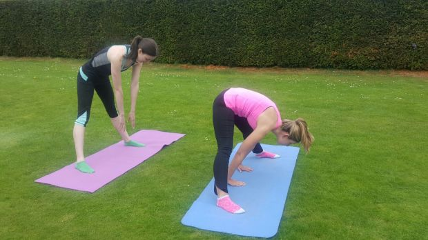 Yoga - Powerscourt Gardens