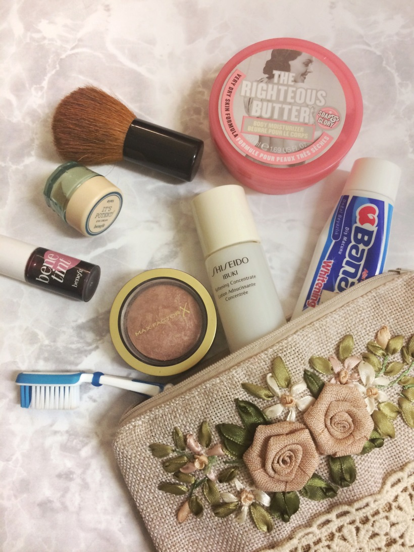 travel beauty bits